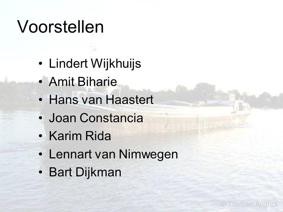 Voorstellen Lindert Wijkhuijs Amit Biharie Hans van Haastert