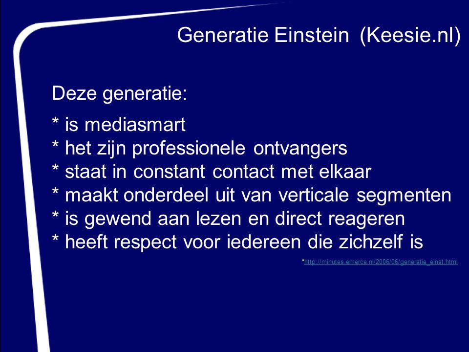 Generatie Einstein (Keesie.nl)