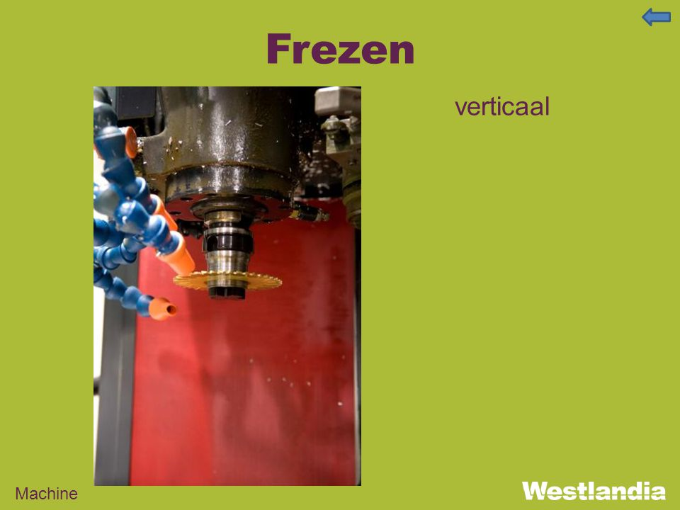 Frezen verticaal Machine