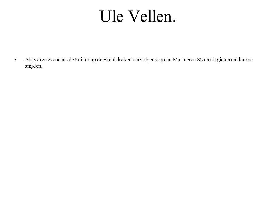 Ule Vellen.