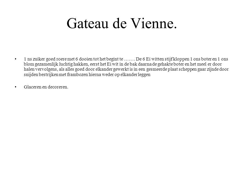 Gateau de Vienne.