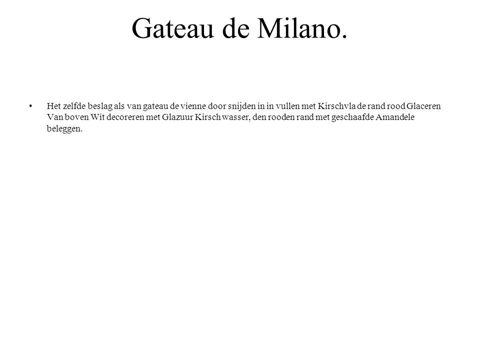 Gateau de Milano.