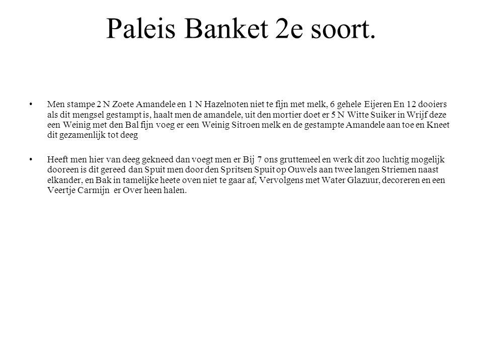 Paleis Banket 2e soort.
