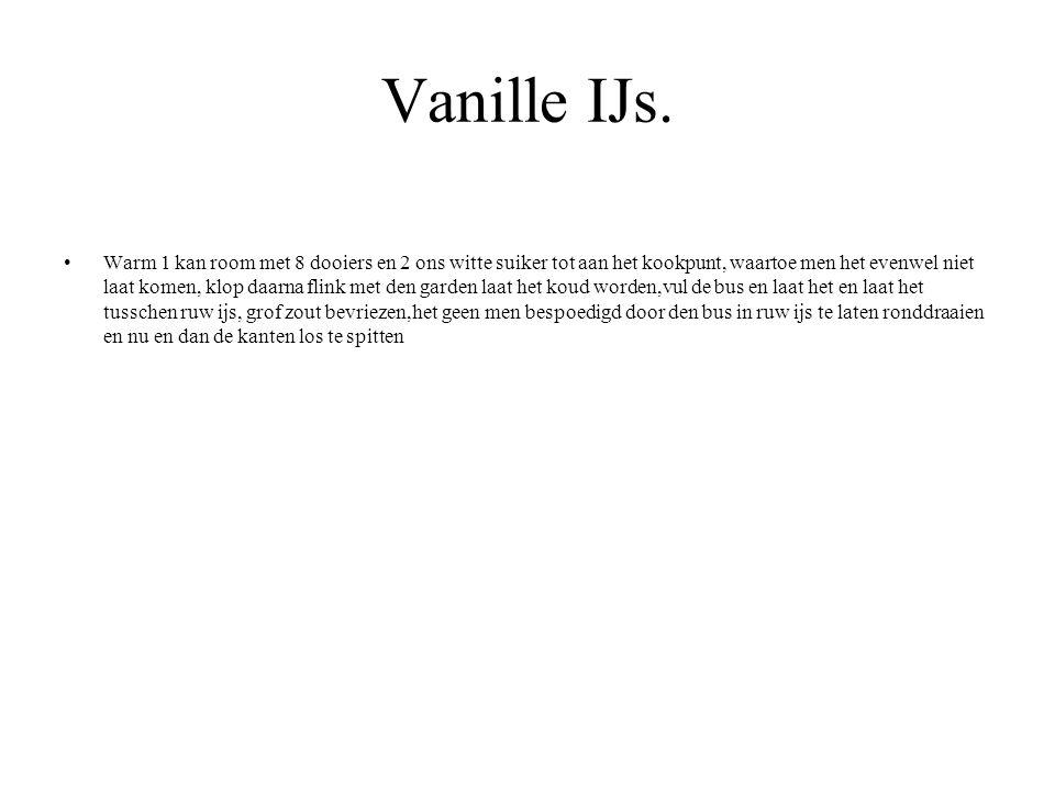 Vanille IJs.