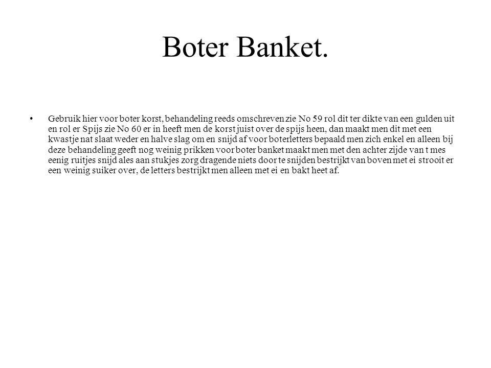 Boter Banket.
