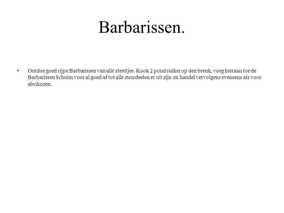 Barbarissen.