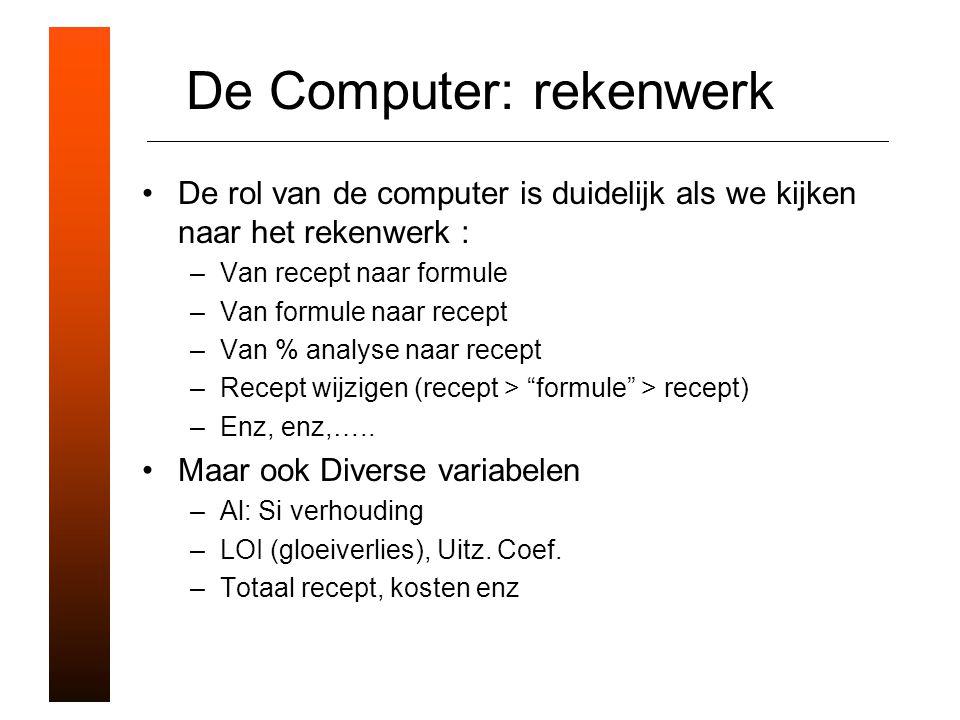 De Computer: rekenwerk
