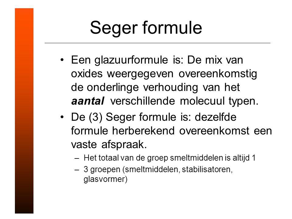 Seger formule