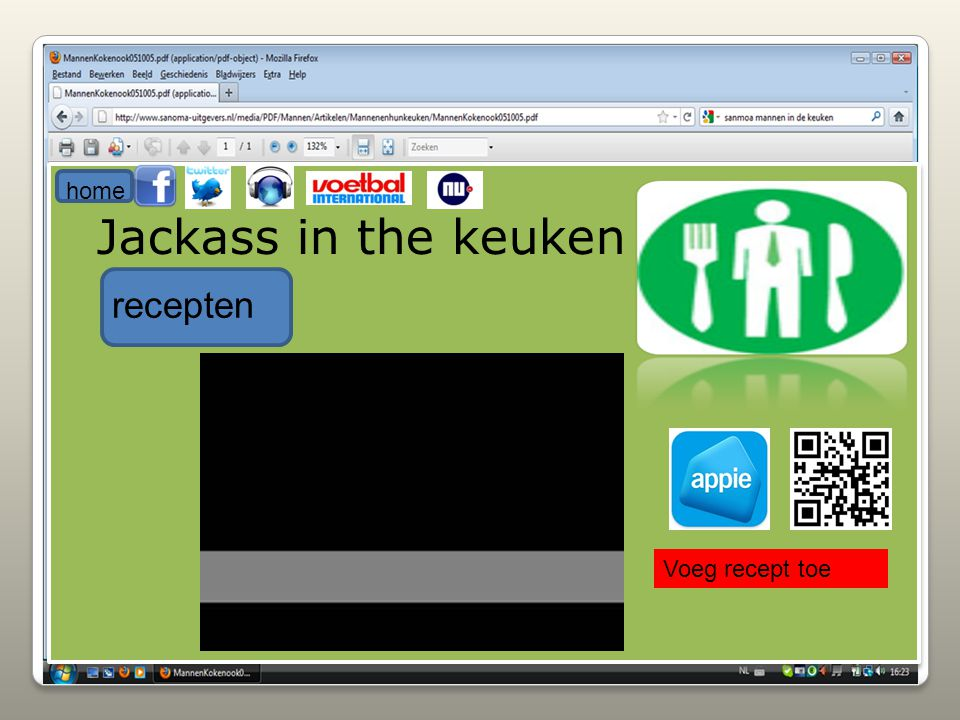 home Jackass in the keuken recepten Voeg recept toe