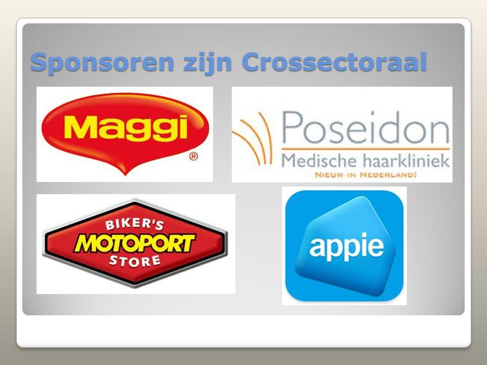 Sponsoren zijn Crossectoraal