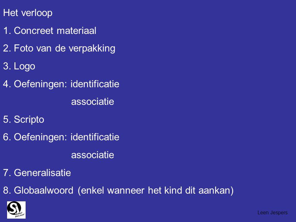 4. Oefeningen: identificatie associatie 5. Scripto