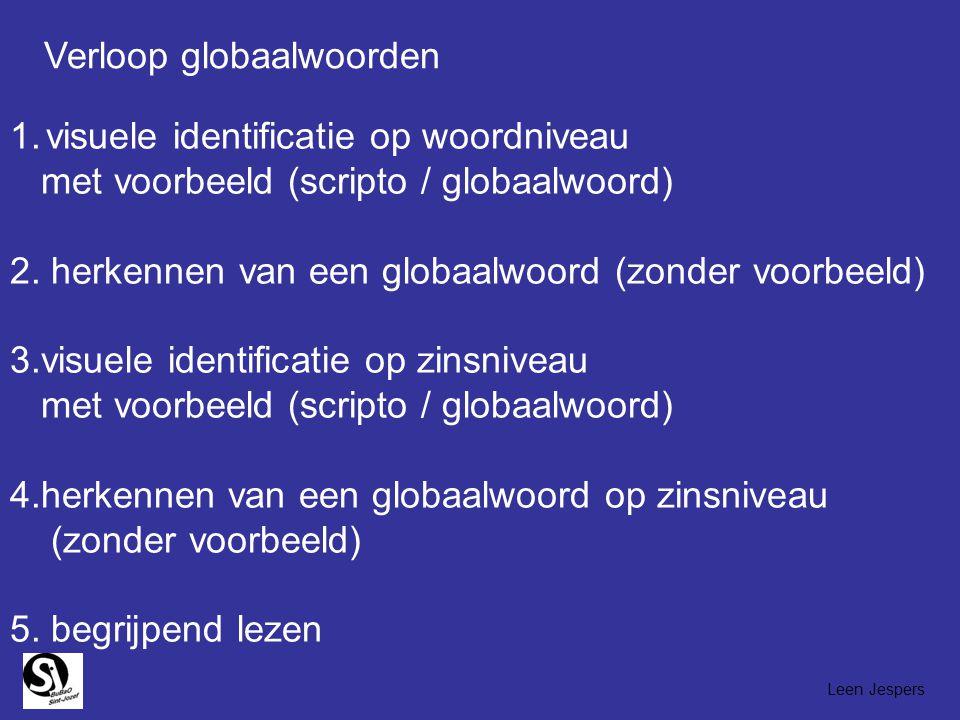 Verloop globaalwoorden
