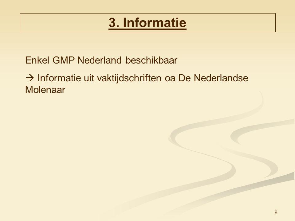 3. Informatie Enkel GMP Nederland beschikbaar