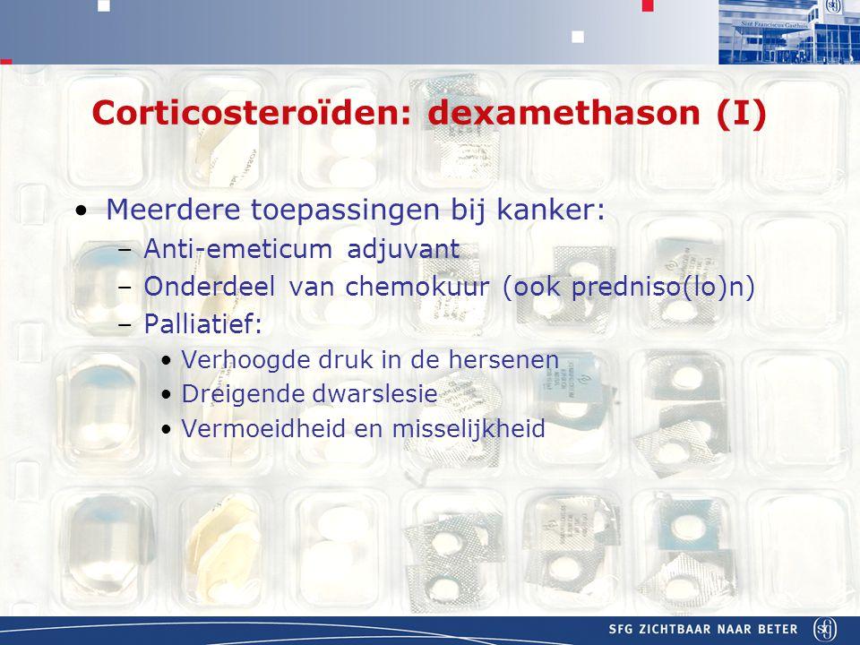 Corticosteroïden: dexamethason (I)