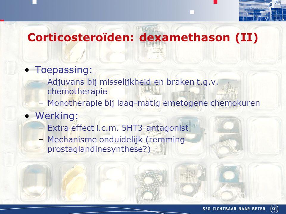 Corticosteroïden: dexamethason (II)