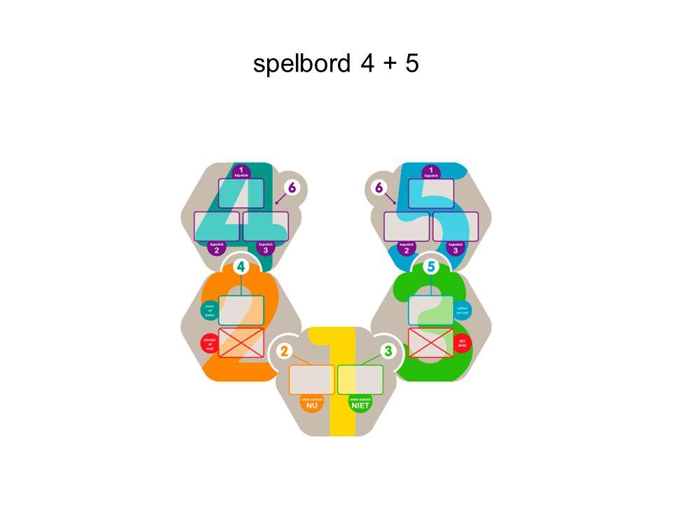 spelbord 4 + 5