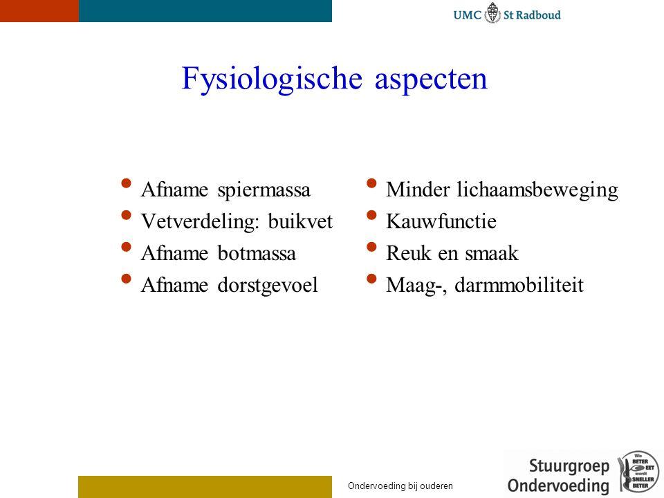Fysiologische aspecten