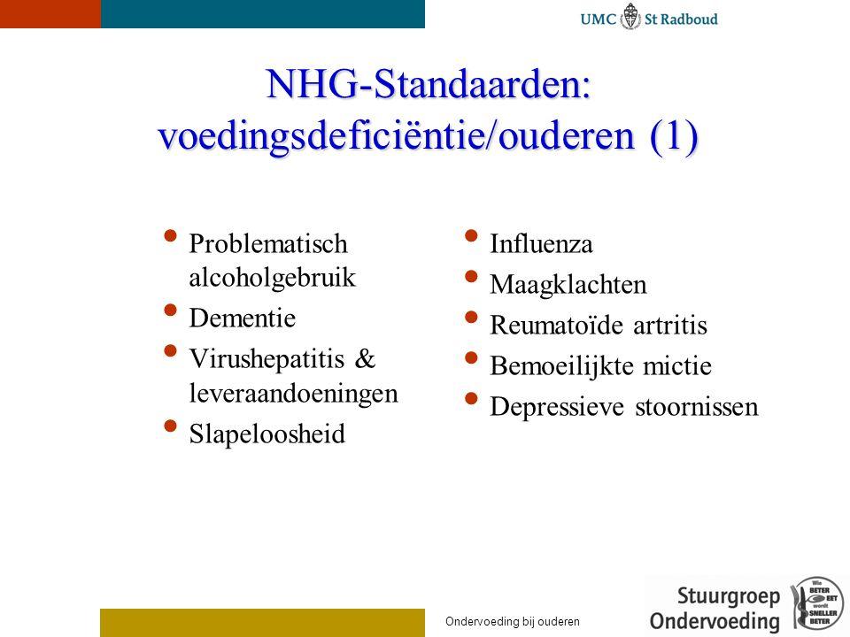 NHG-Standaarden: voedingsdeficiëntie/ouderen (1)