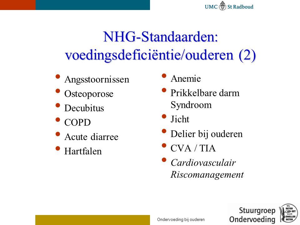NHG-Standaarden: voedingsdeficiëntie/ouderen (2)
