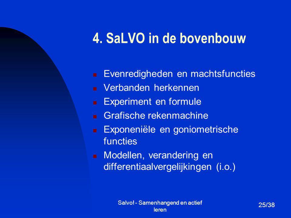 Salvo! - Samenhangend en actief leren