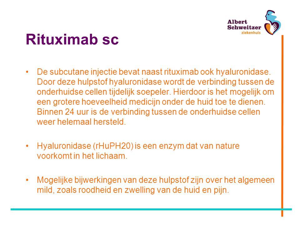 Rituximab sc