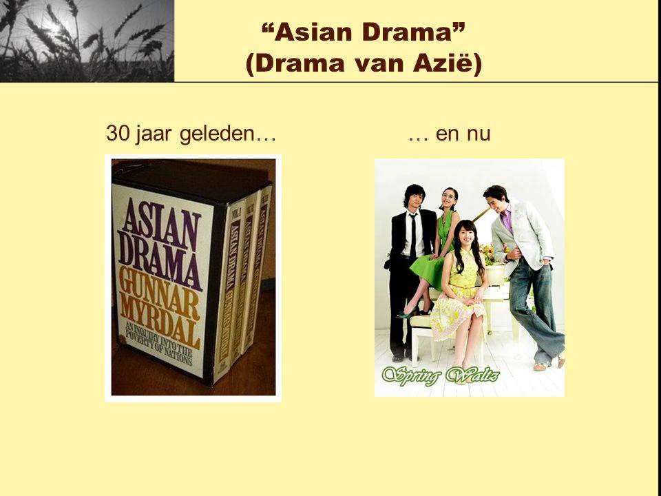 Asian Drama (Drama van Azië)
