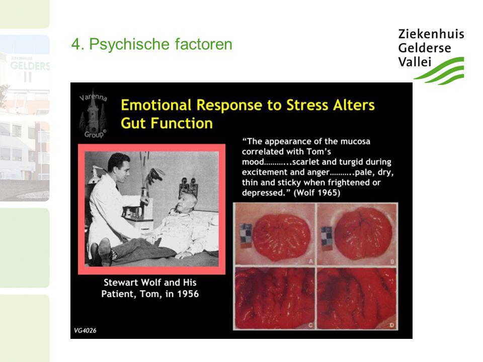4. Psychische factoren