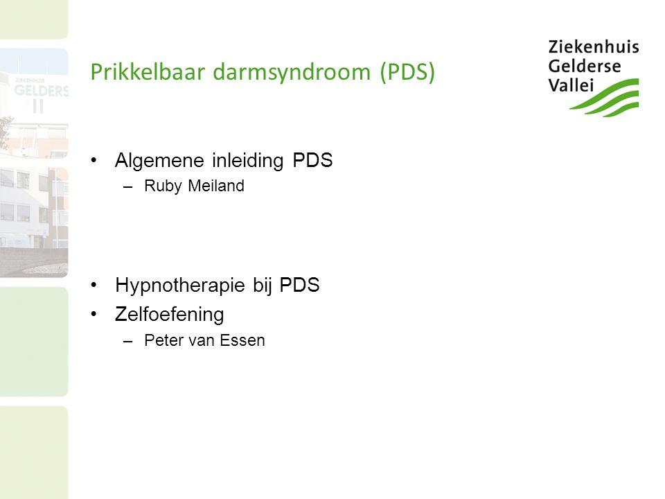 Prikkelbaar darmsyndroom (PDS)