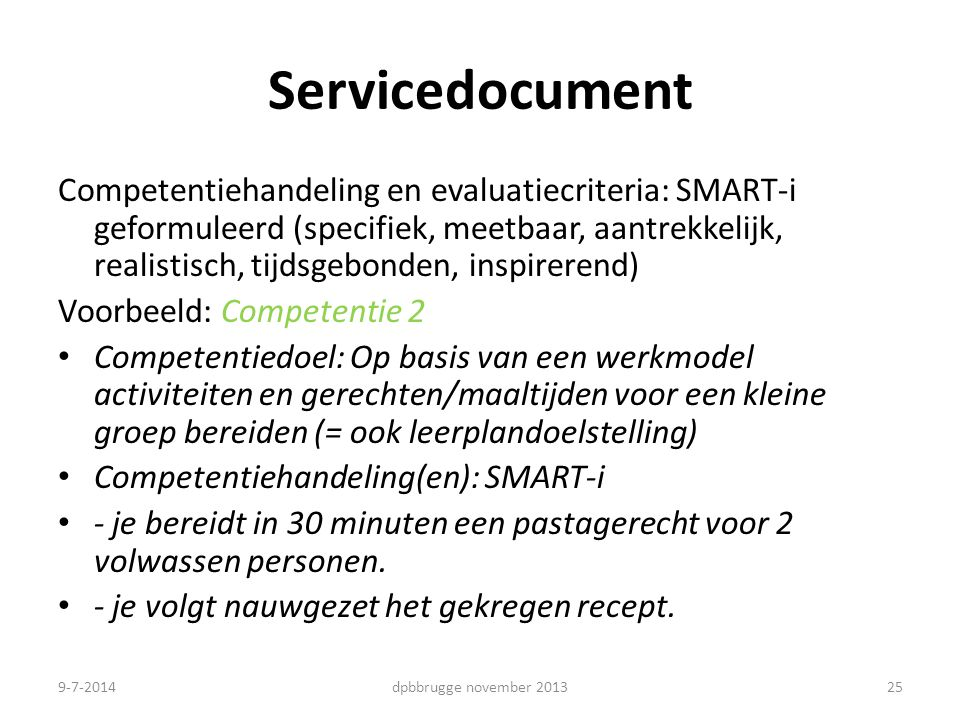 Servicedocument