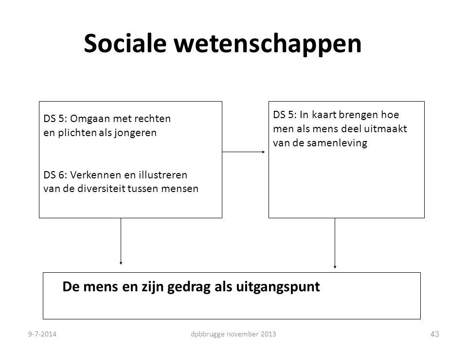 Sociale wetenschappen