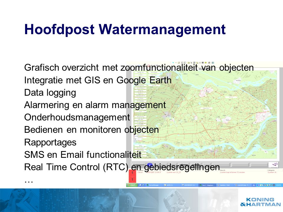 Hoofdpost Watermanagement