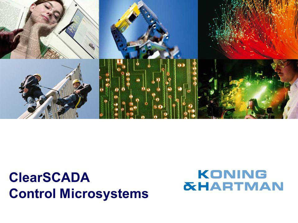 ClearSCADA Control Microsystems