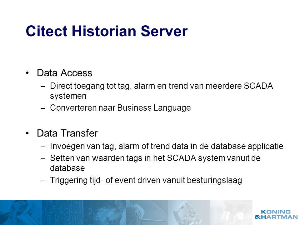 Citect Historian Server