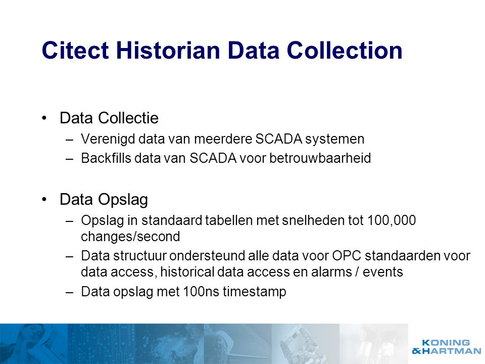 Citect Historian Data Collection