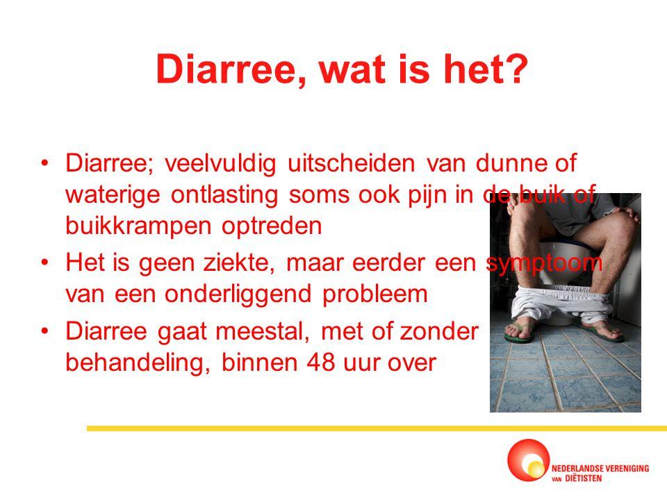veel diarree hebben