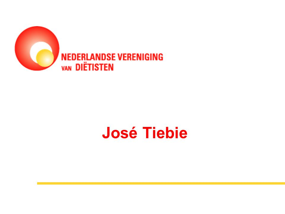 José Tiebie Dit ben ik en voor mijn brood werkzaam bij Dieet Compleet dieitsten praktijk west frielsand.