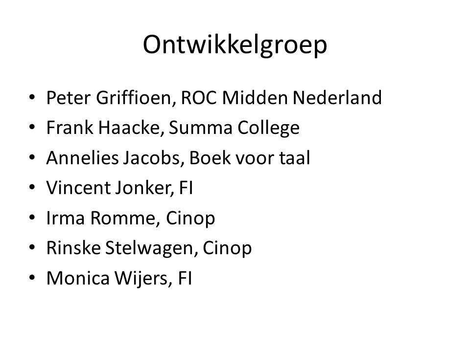 Ontwikkelgroep Peter Griffioen, ROC Midden Nederland