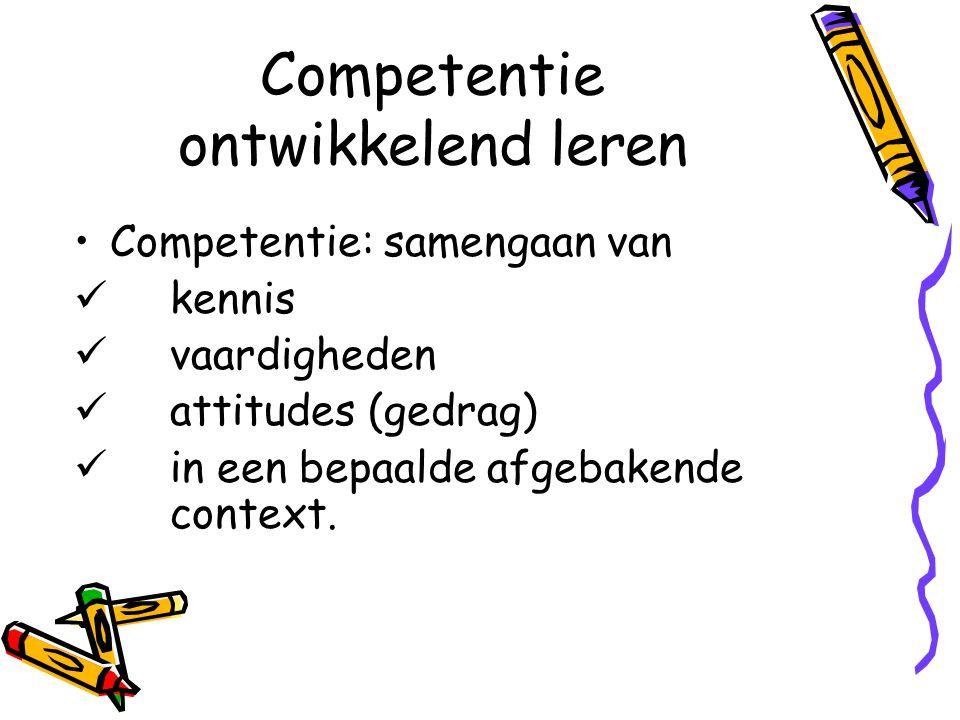 Competentie ontwikkelend leren