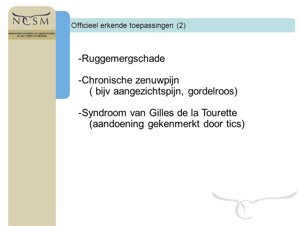 -Chronische zenuwpijn ( bijv aangezichtspijn, gordelroos)