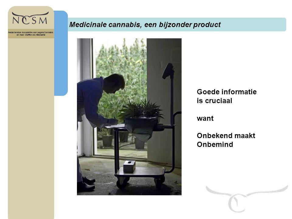 Medicinale cannabis, een bijzonder product