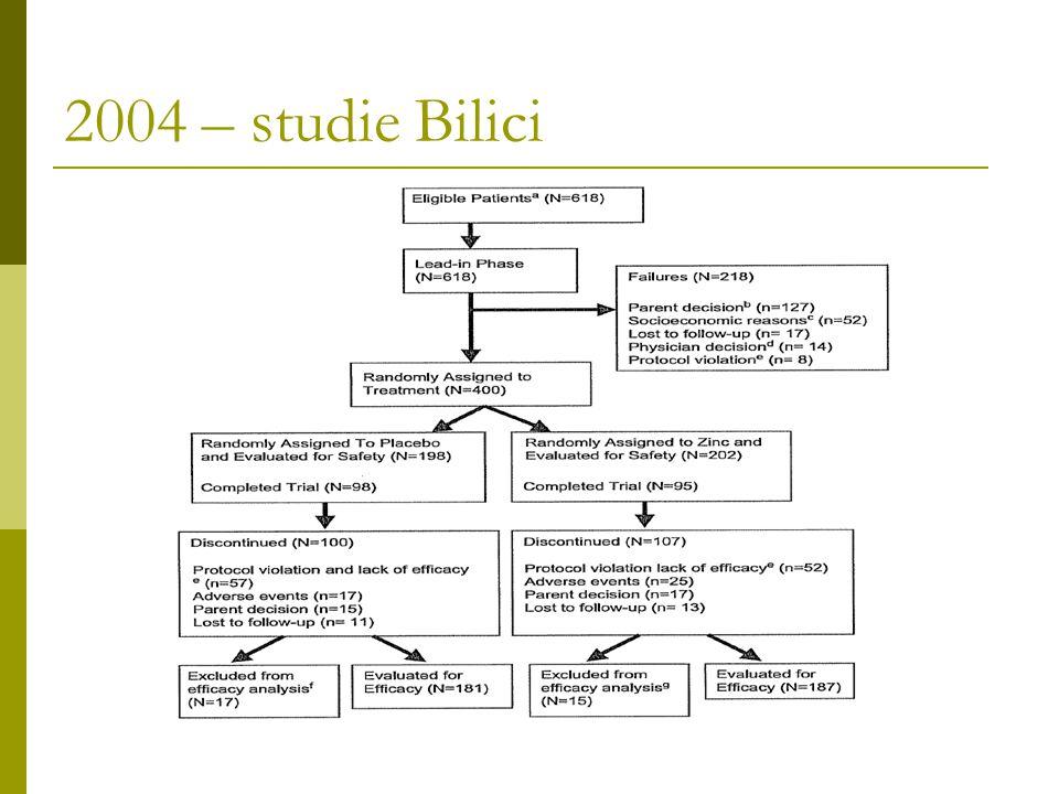 2004 – studie Bilici