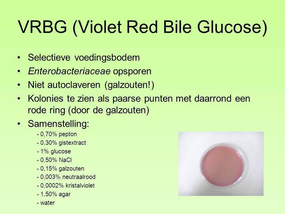 VRBG (Violet Red Bile Glucose)