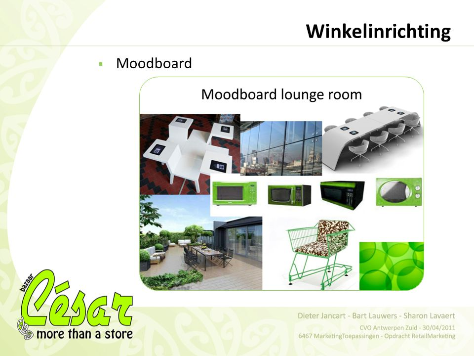 Winkelinrichting Moodboard
