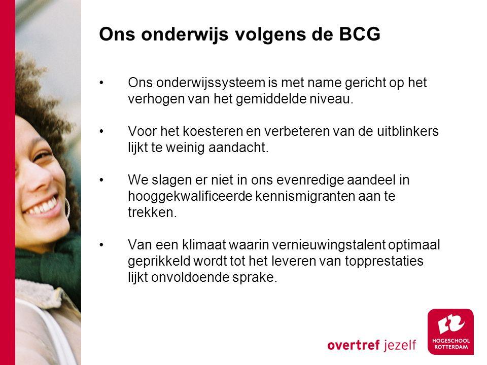 Ons onderwijs volgens de BCG