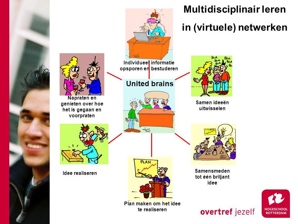 Multidisciplinair leren in (virtuele) netwerken