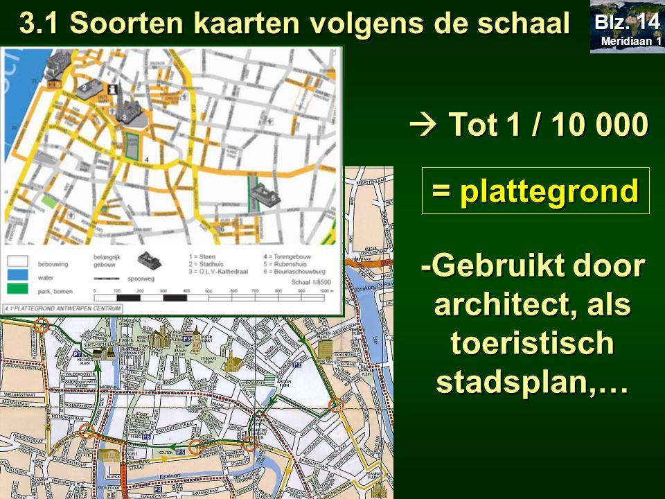 = plattegrond -Gebruikt door architect, als toeristisch stadsplan,…
