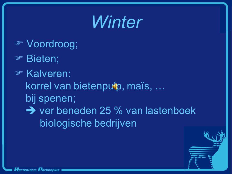 Winter Voordroog; Bieten;