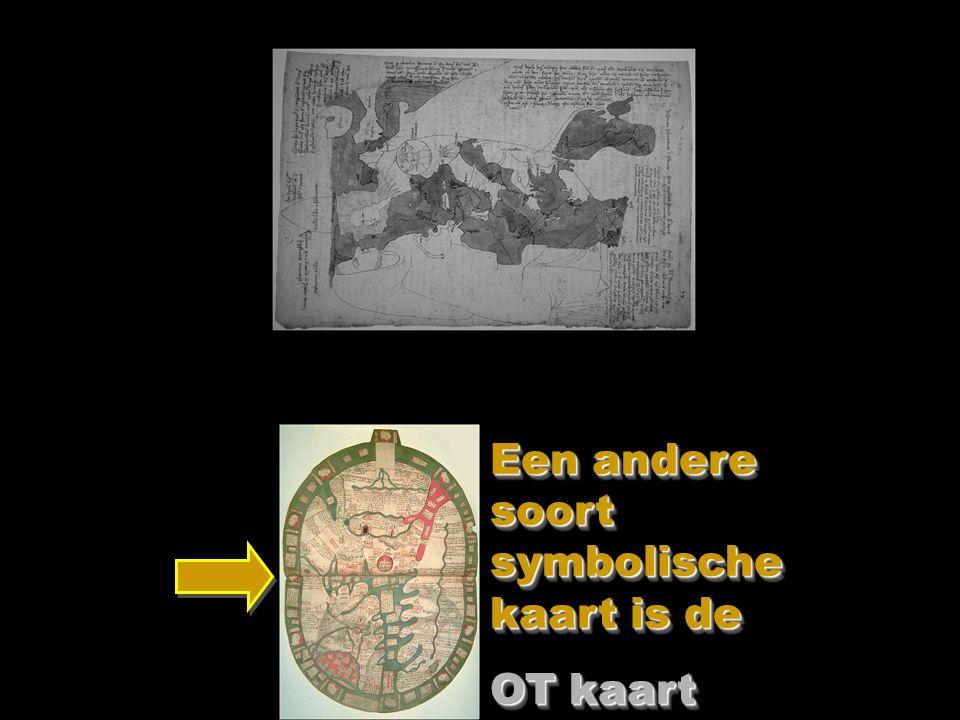 Een andere soort symbolische kaart is de