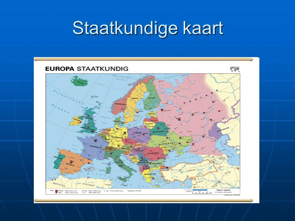 Staatkundige kaart