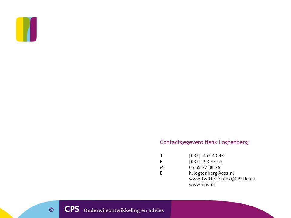Contactgegevens Henk Logtenberg: